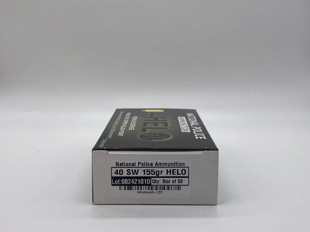 40 S&W 155GR